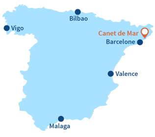 Ou se trouve Canet de Mar en Espagne