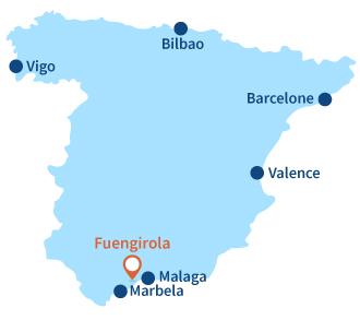 Ou se trouve Fuengirola en Espagne - Andalousie