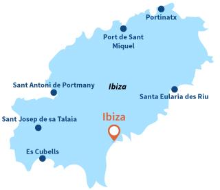 Plages Ibiza   Station balnéaire Ibiza   Eivissa   Ibiza
