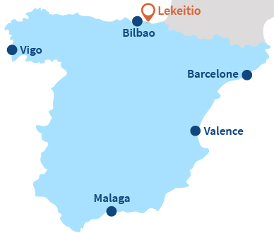 Où se trouve Lekeitio dans le Pays Basque espagnol