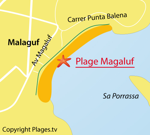 Magaluf Beach in Magaluf Majorca Balearic Spain Opinion and