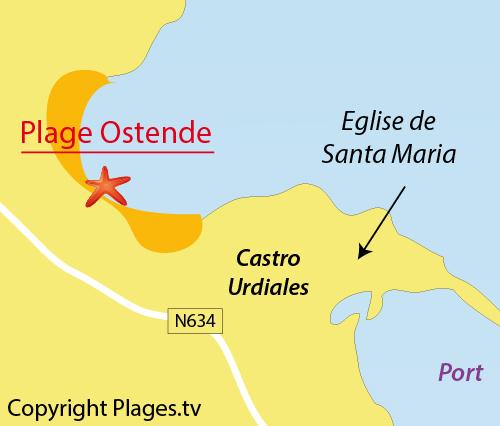 Plage D Ostende A Castro Urdiales Cantabrie Espagne Avis Et Photos Plages Tv
