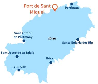 Où se trouve Port de Sant Miquel à Ibiza