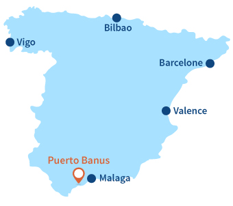 Ou se trouve Puerto Banus en Espagne