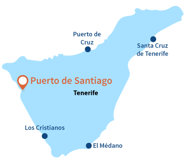 Localisation de Puerto de Santiago à Tenerife