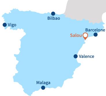 Plages Salou   Station balnéaire de Salou   Catalogne   Espagne