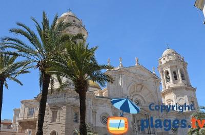 Cathédrale de Cadix en Espagne