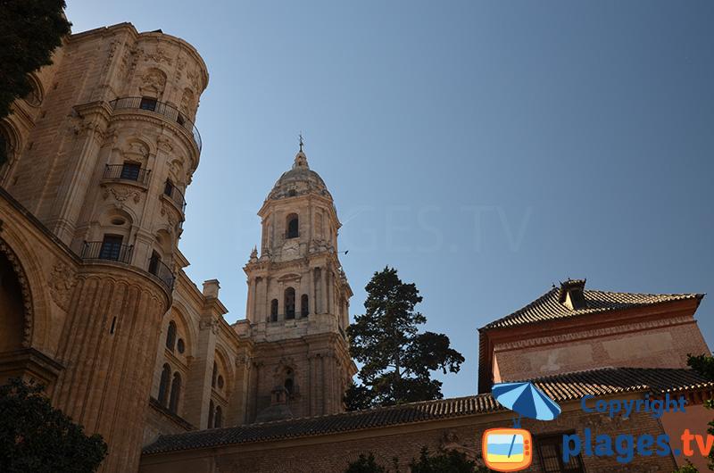 Cathédrale de Malaga en andalousie