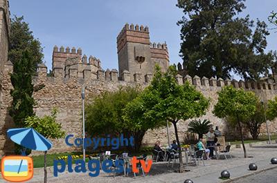 Chateau d'El Puerto de Santa Maria en Andalousie