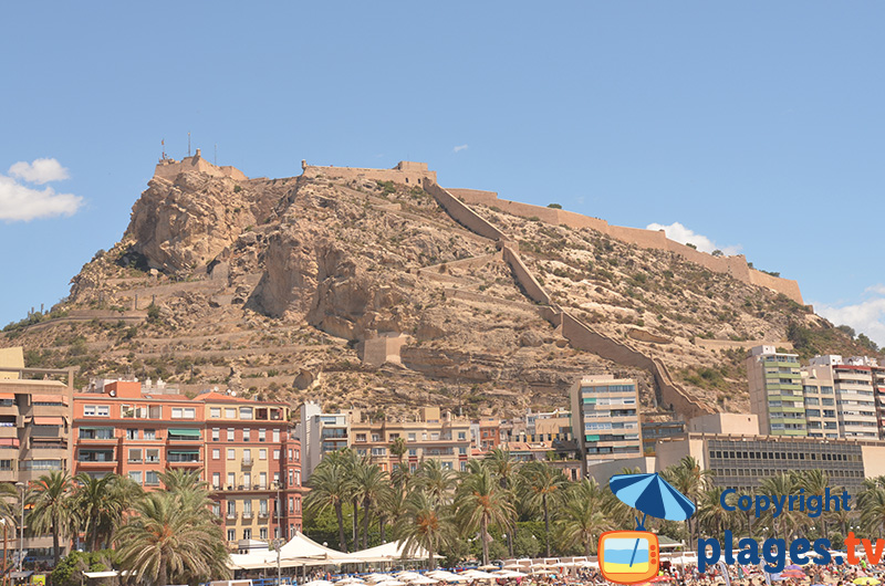 Château et murailles de Santa Barbara - Alicante