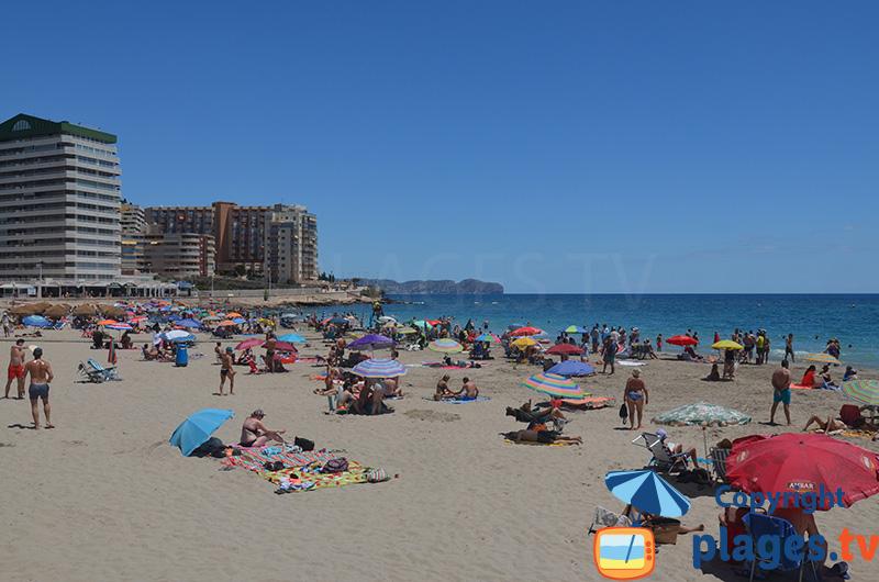Hôtels autour de la plage de Levante à Calpe
