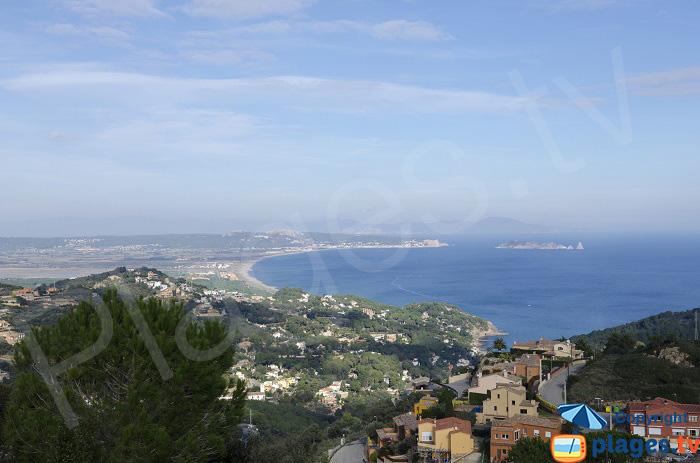 La côte de Begur à l'Estartit en Espagne