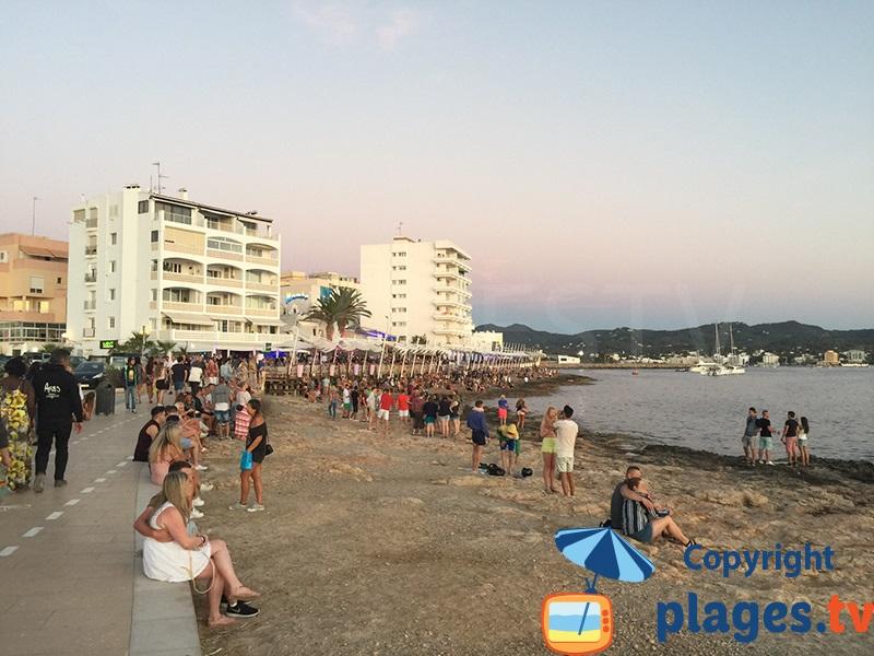 Coucher de soleil à Sant Antoni - Ibiza