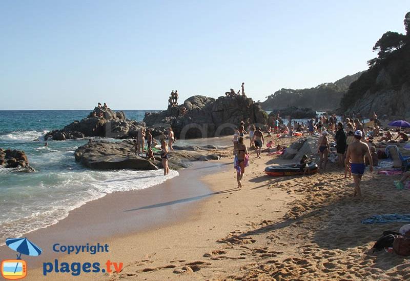 Crique de Boadella à Lloret de Mar