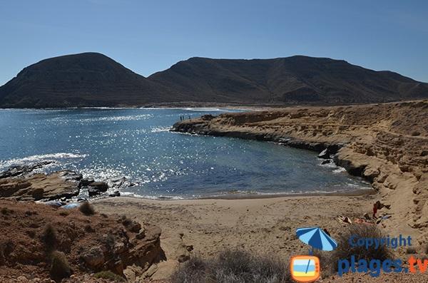 Crique de Playazo en Andalousie - Rodalquilar