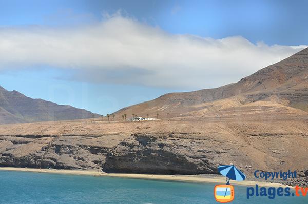 Photo de la crique de Gran Valle à Fuerteventura