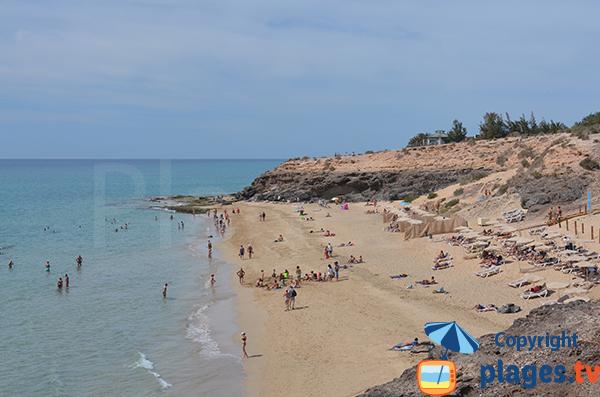 Crique de sable à Costa Calma - Fuerteventura
