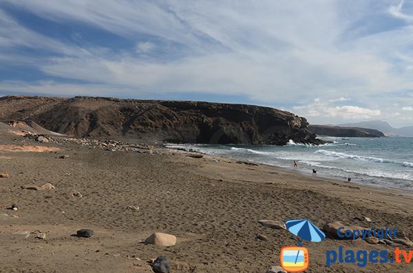 Photo de la crique de La Pared à Fuerteventura