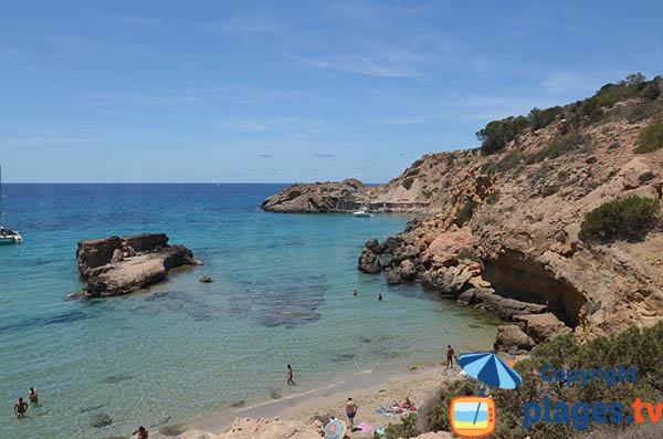 Crique des Pêcheurs à  Sant Josep de sa Talaia - Ibiza