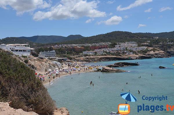 Grande plage de Sant Josep de sa Talaia