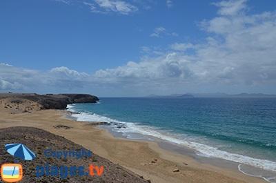Belle crique à Lanzarote - Playa-Blanca