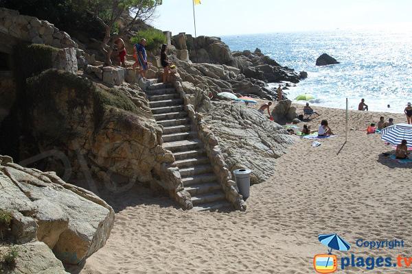 Escalier de la Cala Rod