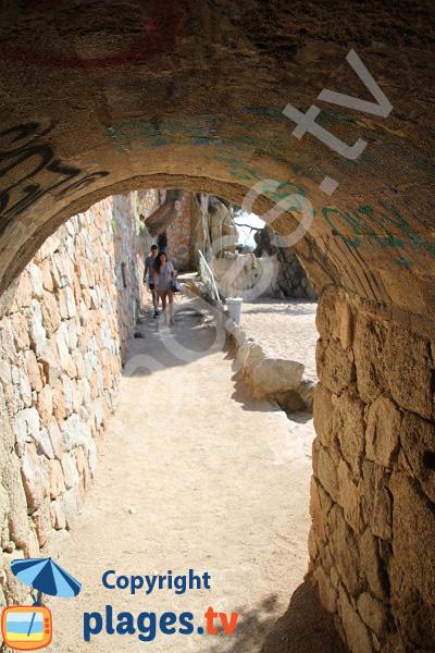 Chemin de ronde de Platja d'Aro