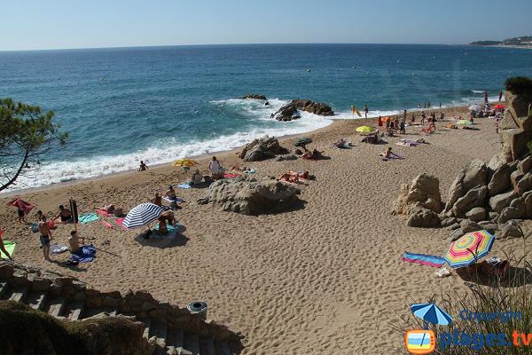 Photo de la Cala Rod à Platja d'Aro en Espagne