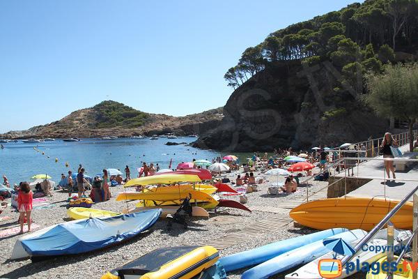 Kayak de mer à Begur