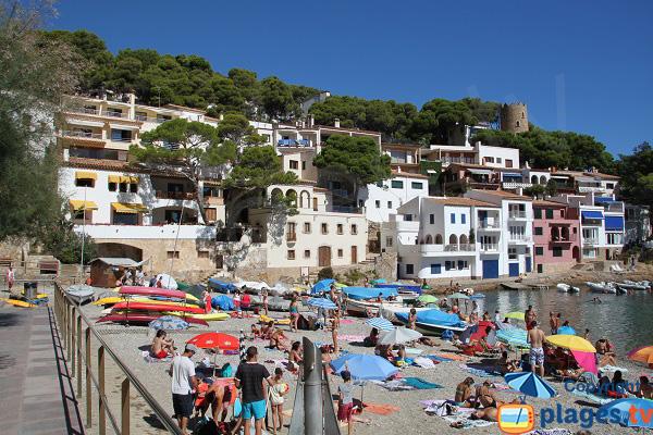 Photo de la crique de Sa Tuna à Begur - Espagne