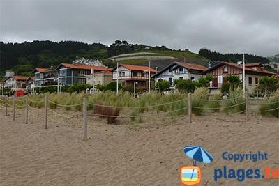 Deba en Espagne dans le pays basque