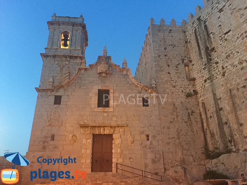 église et le chateau de Peniscola