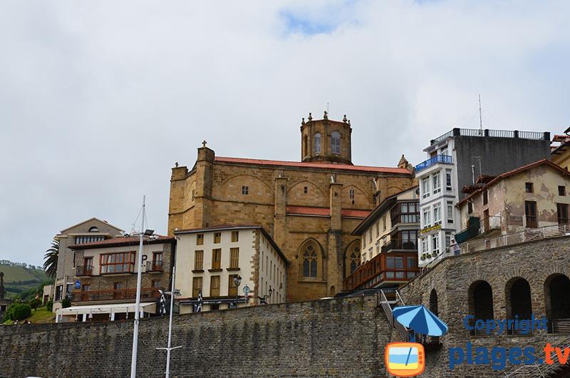 église de Getaria en Espagne