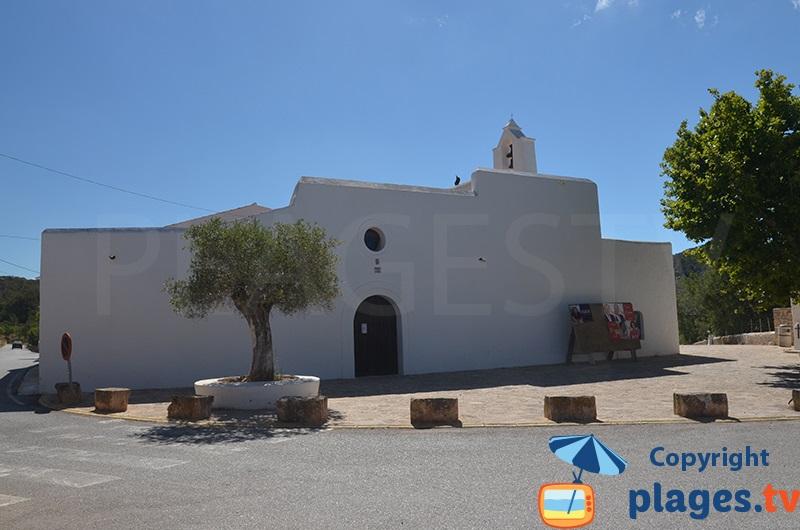 church of Santa Agnès in Ibiza