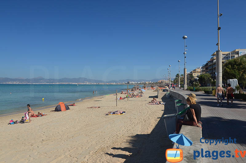 El Arenal avec vue sur Palma de Majorque