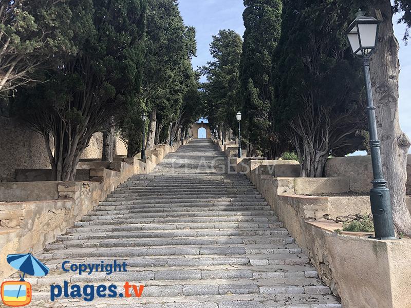 Escaliers à Arta