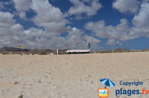 Kite surf à Corralejo - Flag Beach