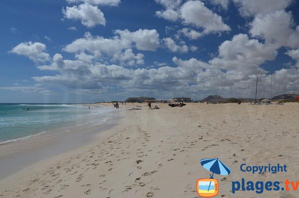 Grande Plage au nord de fuerteventura