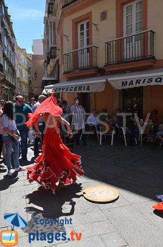 Flamenco à Cadix