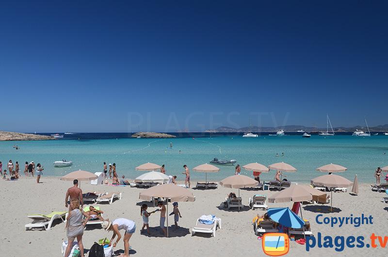Belle plage de Formentera - Ibiza