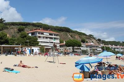 Front de mer de Caldetas en Espagne