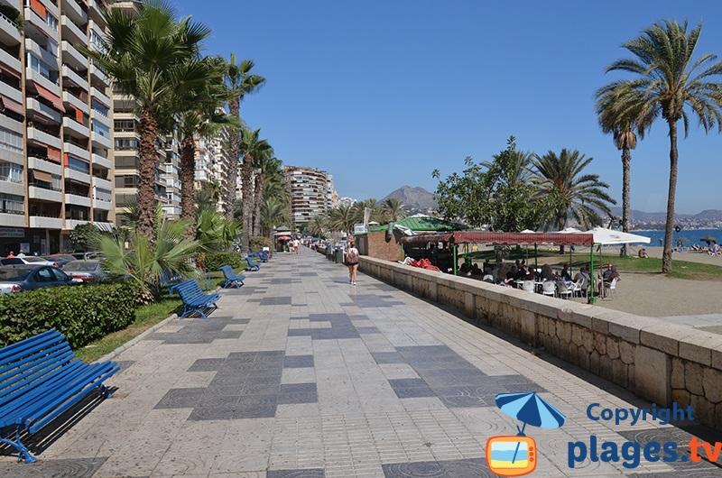 Front de mer de Malaga
