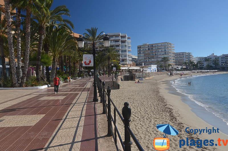 Front de mer de Santa Eularia - Ibiza