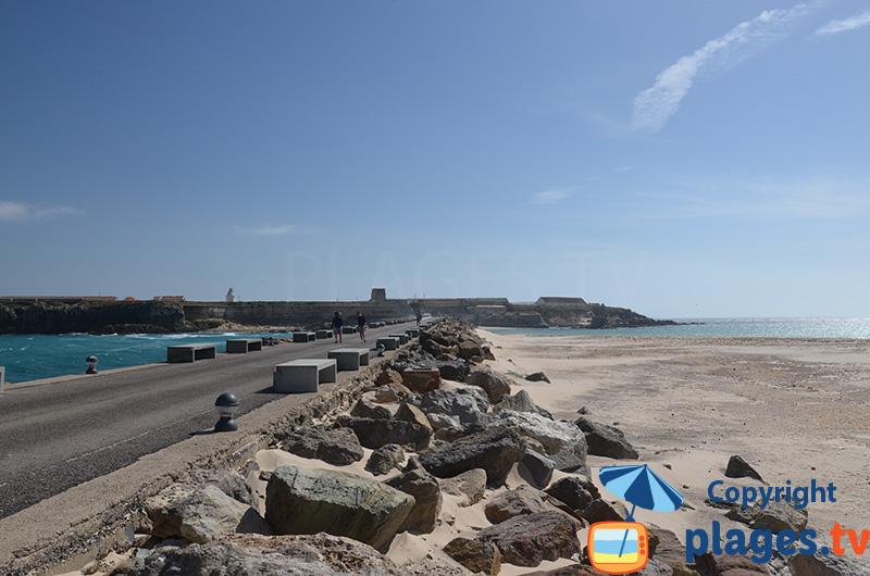 Frontière entre la Méditerranée et l'Atlantique en Espagne - Tarifa