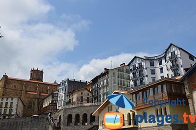 Getaria dans le pays basque en Espagne