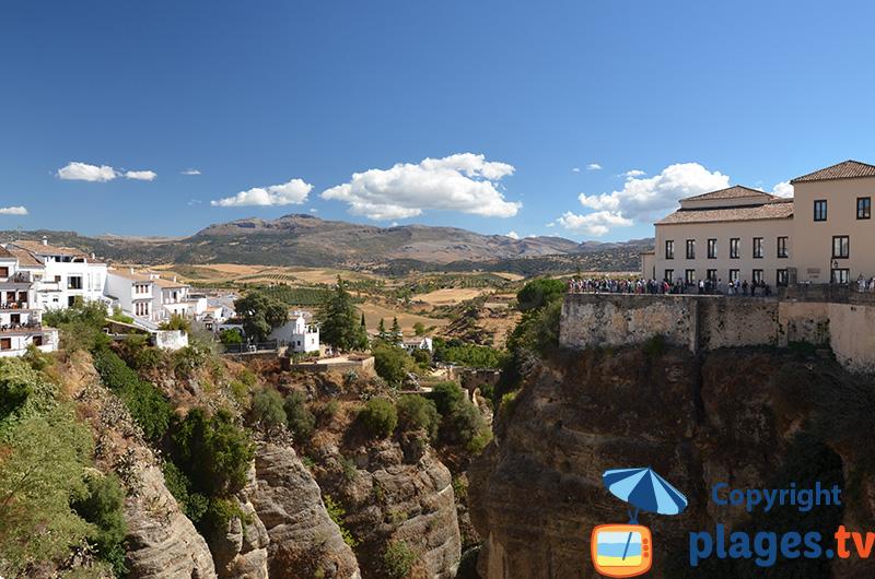 Gorge d'El Tajo à Ronda - Espagne