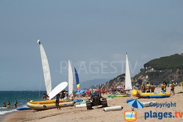 Catamarans à Calella