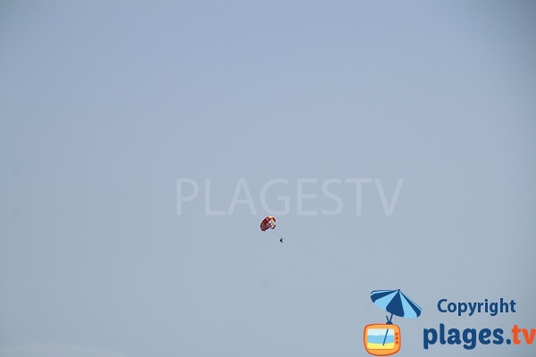 parachute ascensionnel à Calella