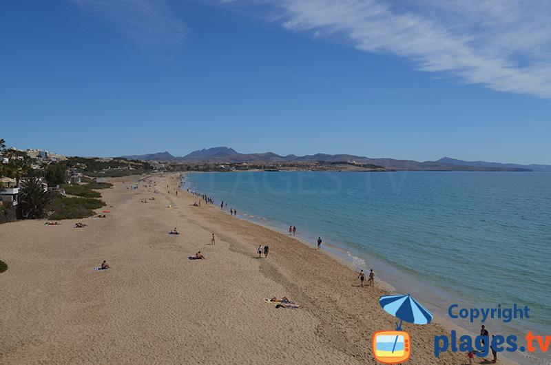 Grande plage de Costa Calma