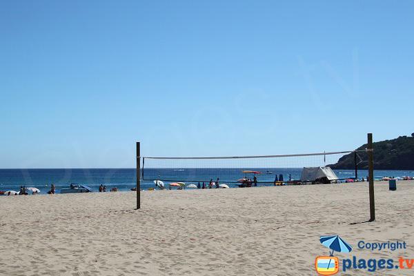 Beach volley à Pals